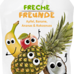 freche-freunde-quetschie-apfel-banane-ananas-kokosnuss